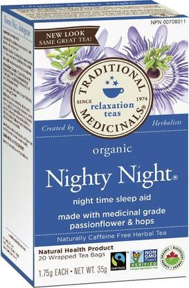 Nighty Night Tea, 20 teabags (Traditional Medicinals)
