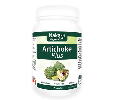 Artichoke Plus, 400 mg, 75 caps (Naka)
