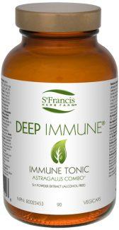 Deep Immune, Immune Tonic  St. Francis Herb Farm, 90 vegicaps