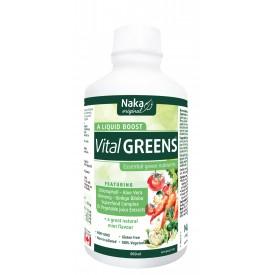 Vital Greens, mint flavour, 500 mL (Naka)