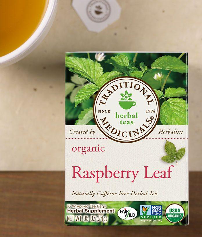 Raspberry Leaf Tea, Organic, 20 teabags (Traditional Medicinals)
