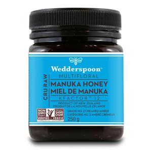 100% raw manuka honey, KFactor 12, 250 g (wedderspoon)