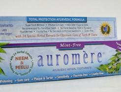 auromere ayurvedic herbal toothpaste, mint-free, 75 ml (auromere)