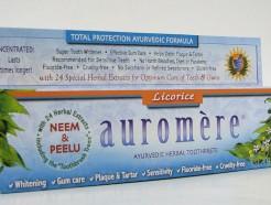 auromere ayurvedic herbal toothpaste, licorice, 75 ml (auromere)