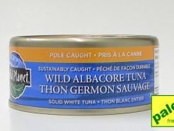 wild albacore tuna, 142 g (wild planet)