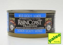 wild sockeye salmon, 160 g (rainCoast trading)