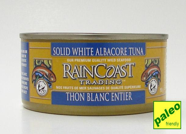 solid white albacore tuna, 150 g (rainCoast trading)