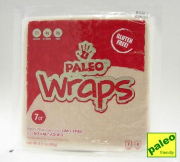 Gluten-free, GMO-free, no added salt paleo wraps (julian bakery)