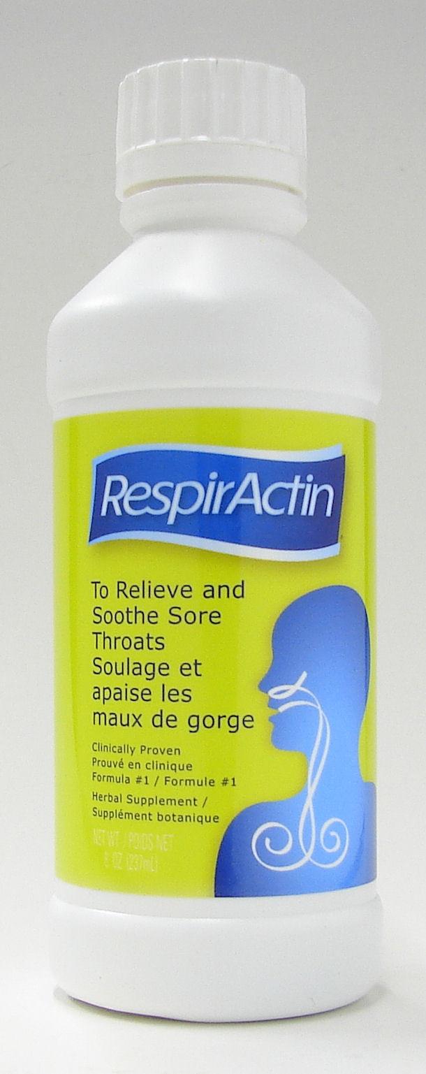 RespirActin (237 ml, 8 oz.) (Sun Force International Products, Inc.)