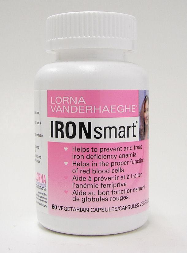 ironSmart, 60 vegetarian capsules (lorna vanderhaeghe)