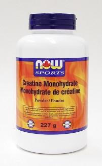 creatine monohydrate powder, 227g (now)