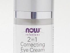 2 in 1 correcting eye cream mature skin, 1 fl oz, (Now)
