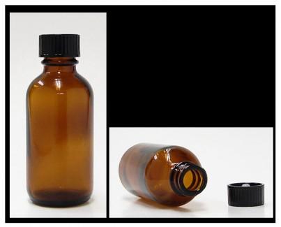 50 ml amber bottle with cap (alypsis)