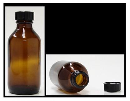 100 ml amber bottle with cap (alypsis)