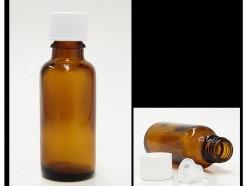 30 ml amber bottle with dropper insert (alypsis)