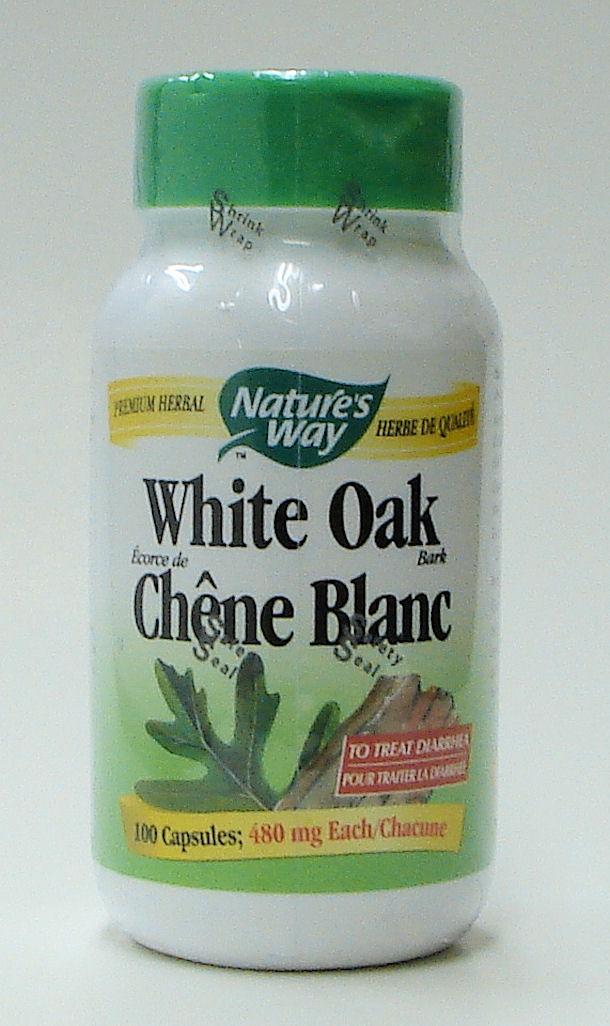 White Oak, 480 mg, 100 capsules (Nature's Way)