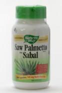 Saw Palmetto berry , 585 mg, 100 vegicaps (Nature's Way)