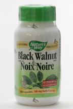 Black Walnut, 500 mg, 100 vegicaps (Nature's Way)