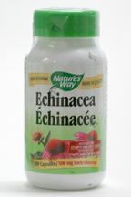 Echinacea, aerial parts, 400 mg, 180 vegicaps (Nature's Way)