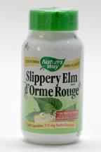 Slippery Elm bark, 370 mg, 100 vegicaps (Nature's Way)