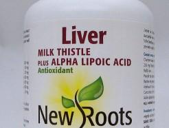 Liver, Milk Thistle plus Alpha Lipoic Acid, 180 caps (New Roots)