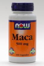 Maca, 500 mg, 100 caps (Now)