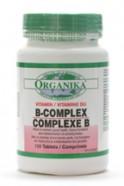 Vitamin B-Complex, 120 tabs (Organika)
