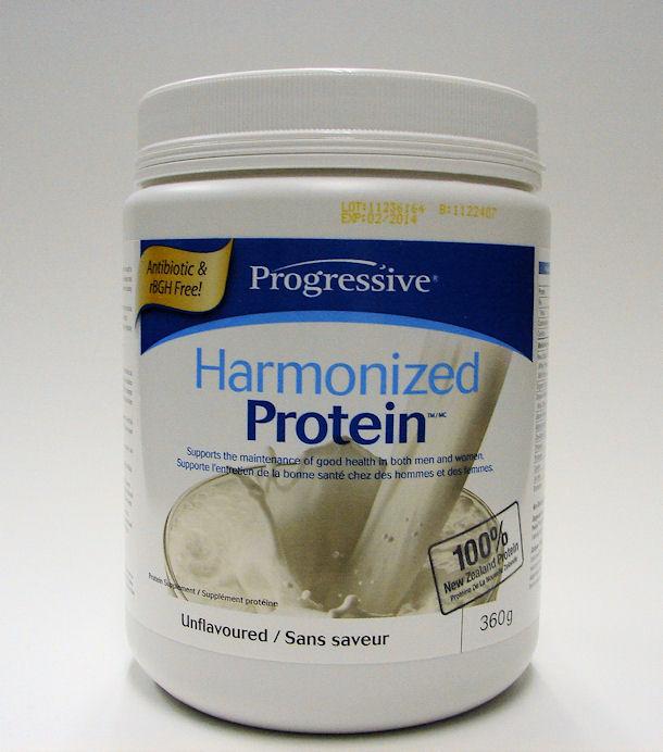 Harmonized Protein powder, 360 g, unflavoured (Progressive)