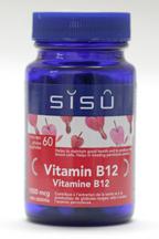 Vitamin B12, 1000 mcg, 60 vegicaps (Sisu)