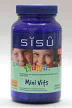 Mini Vits, 90 chewable star tablets (Sisu)