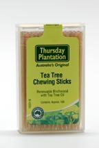 Tea Tree Chewing Sticks, 100 pc (Thursday Plantation)