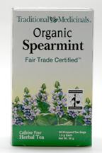 Spearmint Tea, Organic, 20 teabags (Traditonal Medicinals)