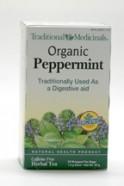 Peppermint Tea, Organic, 20 teabags (Traditional Medicinals)