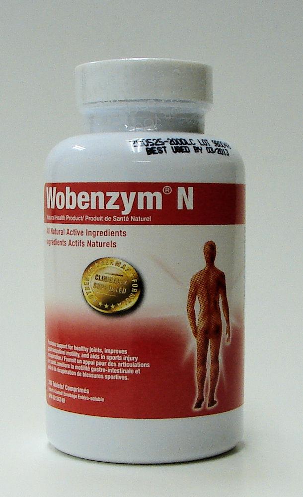 Wobenzym N, 200 tablets (Trophic)
