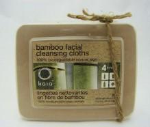 bamboo facial cleansing cloths 30 (kaia)