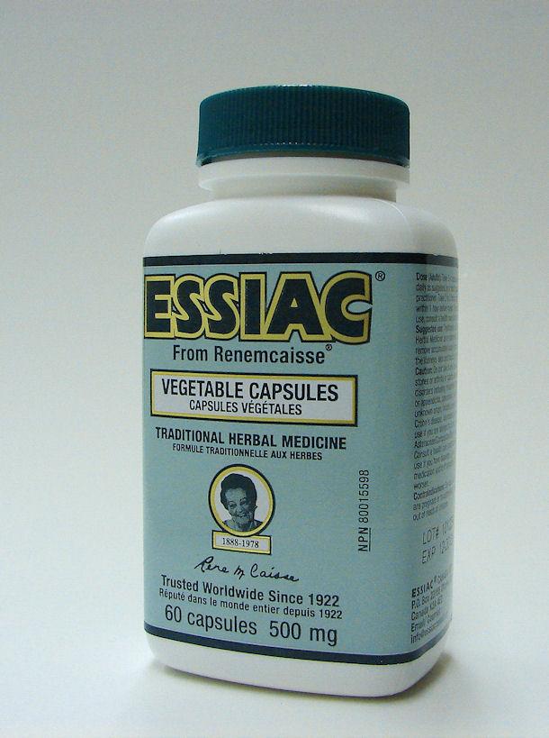 Essiac 60 vcaps 500 mg (Caisse formula)