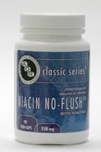 Niacin No-Flush, 550 mg, 90 vegicaps (AOR)