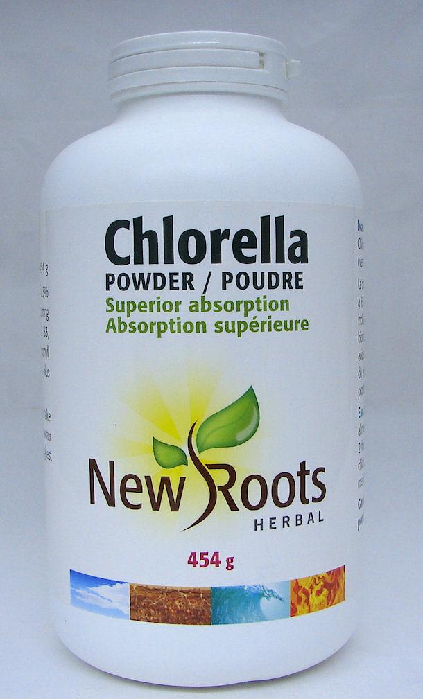 Chlorella powder 454g (New Roots)