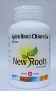 spirulina & chlorella 475 mg 60 caps (new roots)