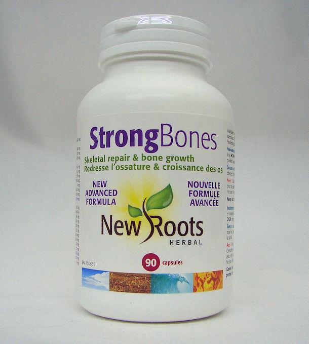 Strong Bones new advanced formula 90 caps (New Roots)