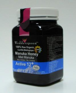 100% raw manuka honey, KFactor 12, 500g (wedderspoon)