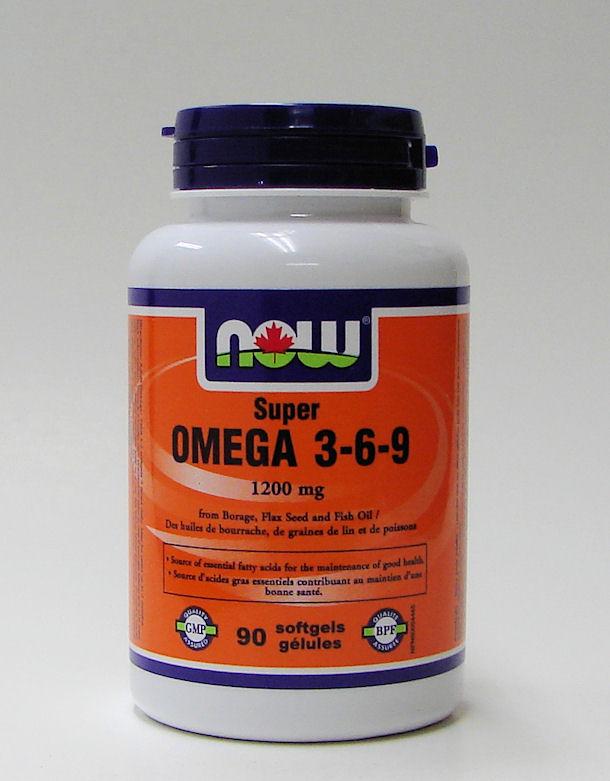 super omega 3-6-9, 1200 mg, 90 softgels (now)