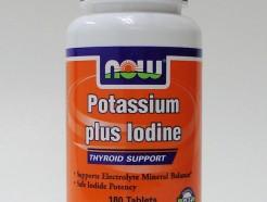 potassium plus iodine, 180 tabs (now)
