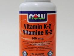 vitamin K-2, 100mcg, 100 vcaps (now)