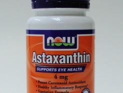 astaxanthin 4 mg, 60 veggie softgels (now)