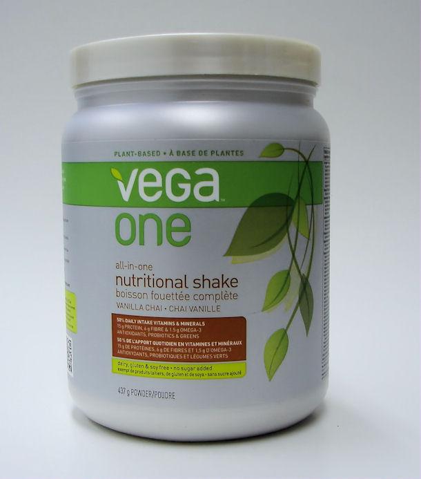 Vega One All-in-one nutritional shake vanilla chai, 437g