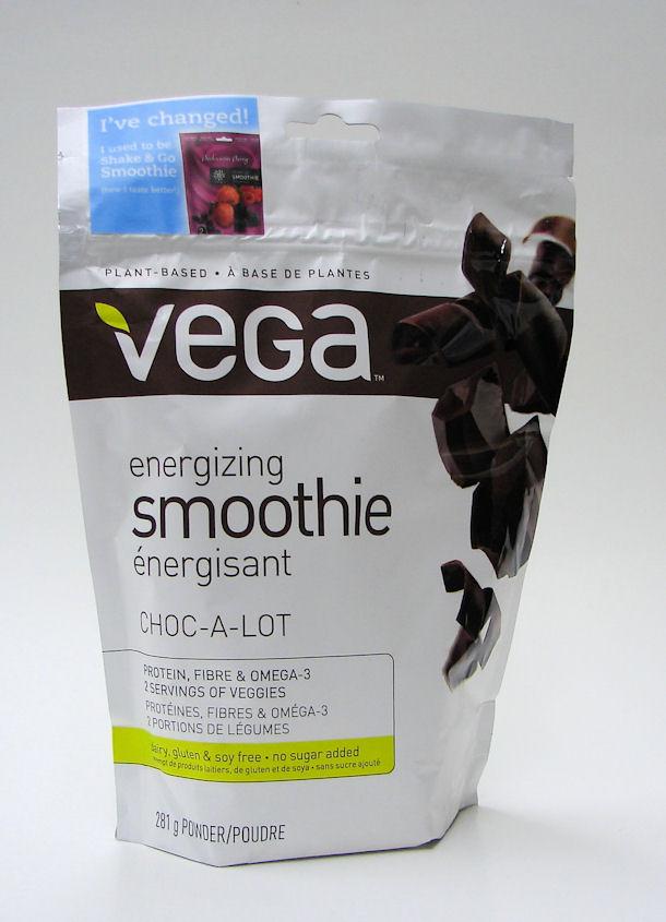 vega energizing smoothie, choc-a-lot, 281g