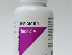 melatonin, 1 mg, 180 tabs (trophic)