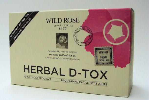 wild rose herbal d-tox, easy 12-day program (wild rose)