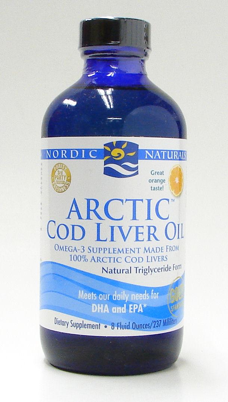 Arctic Cod liver oil, 237 ml (Nordic Naturals)